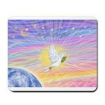 Let Go-Dove-World Mousepad