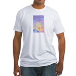 Let Go-Dove-World Fitted T-Shirt