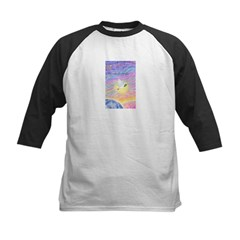 Let Go-Dove-World Kids Baseball Jersey