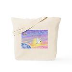 Let Go-Dove-World Tote Bag