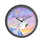 Let Go-Dove-World Wall Clock