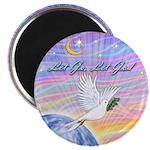 Let Go-Dove-World Magnet