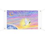Let Go-Dove-World Banner