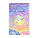 Let Go-Dove-World Mini Poster Print