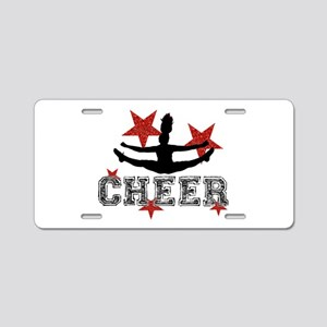 Cheerleader Aluminum License Plate