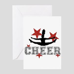 Cheerleader Greeting Cards