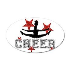 Cheerleader Wall Decal