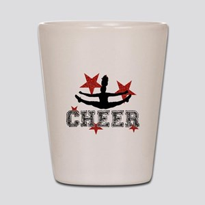 Cheerleader Shot Glass
