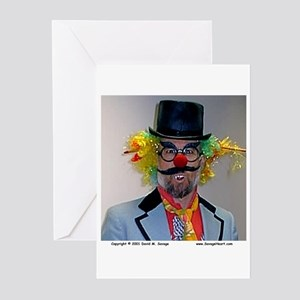 Scary Clown Greeting Cards (Pk of 10)