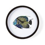 French Angelfish Wall Clock