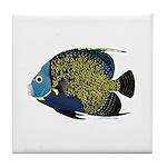 French Angelfish Tile Coaster