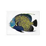 French Angelfish 5'x7'Area Rug