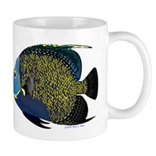 French Angelfish C Mugs