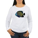 French Angelfish C Long Sleeve T-Shirt