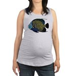 French Angelfish C Maternity Tank Top