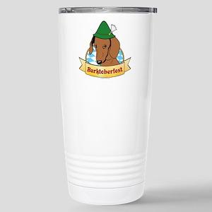 Barktoberfest Travel Mug