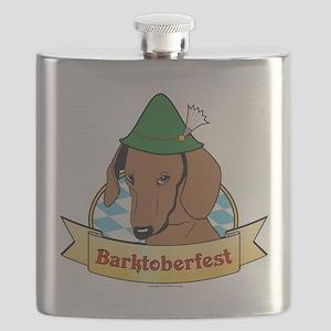 Barktoberfest Flask