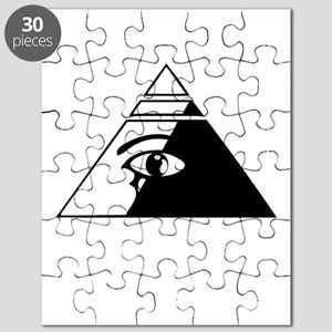 Eye of the pyramid Puzzle