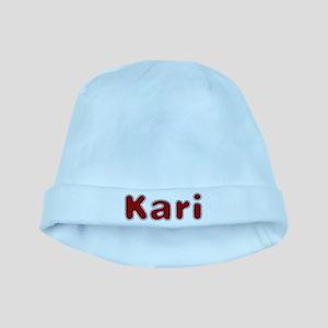 Kari Santa Fur baby hat