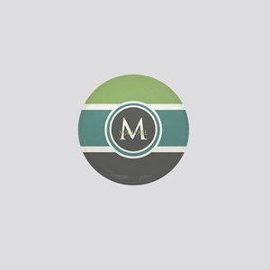 Elegant Modern Monogram Mini Button