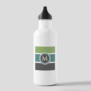 Elegant Modern Monogram Stainless Water Bottle 1.0