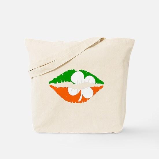 Irish Lips Tote Bag