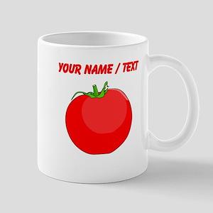 Custom Red Tomato Mugs