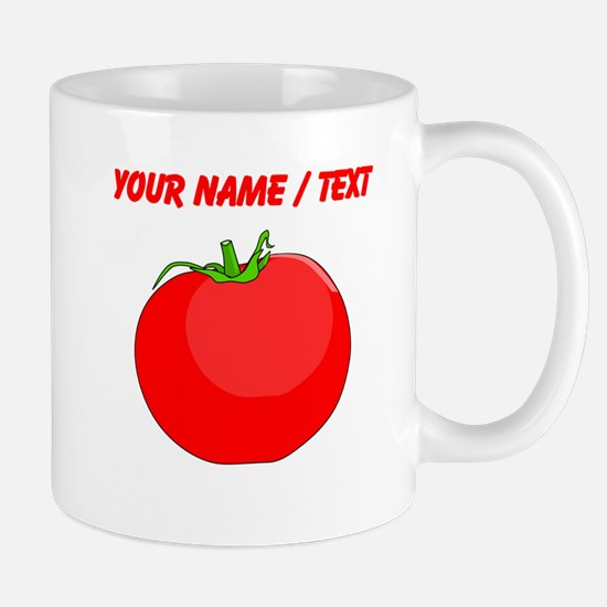 Custom Red Tomato Mugs