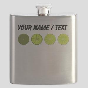 Custom Limes Flask