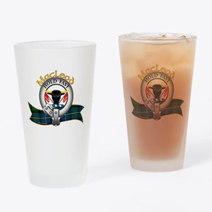 MacLeod Clan Drinking Glass