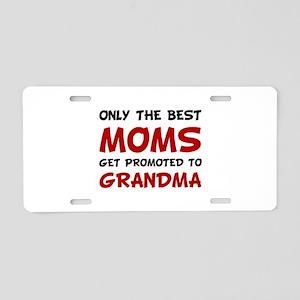 Promoted Grandma Aluminum License Plate