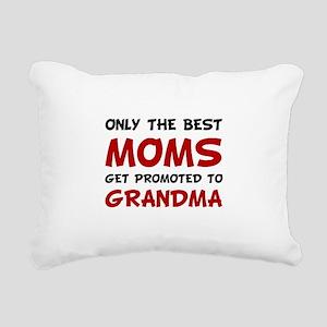 Promoted Grandma Rectangular Canvas Pillow