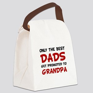 Promoted Grandpa Canvas Lunch Bag