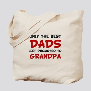 Promoted Grandpa Tote Bag