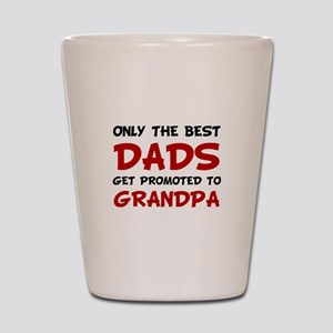 Promoted Grandpa Shot Glass