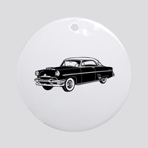 Classic Merc Automobile Ornament (Round)