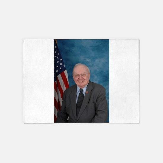 Howard Coble, Republican US Representative 5'x7'Ar