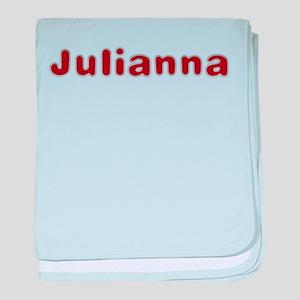 Julianna Santa Fur baby blanket