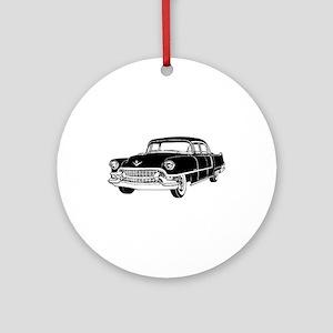 Classic Caddy Sedan Ornament (Round)
