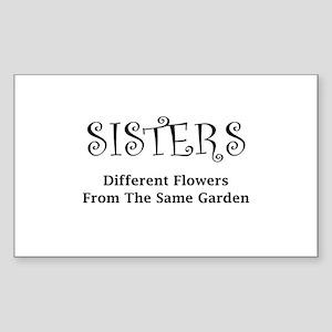 Sisters Garden Sticker