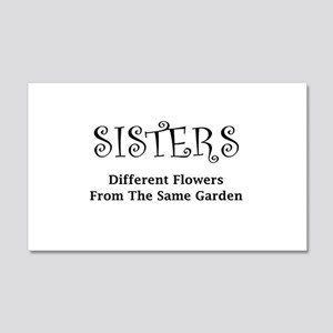 Sisters Garden Wall Decal