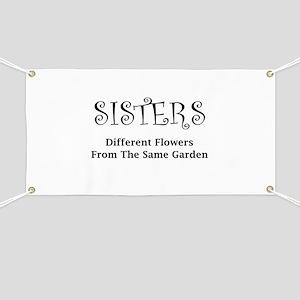 Sisters Garden Banner