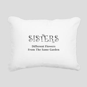 Sisters Garden Rectangular Canvas Pillow