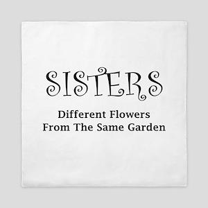 Sisters Garden Queen Duvet
