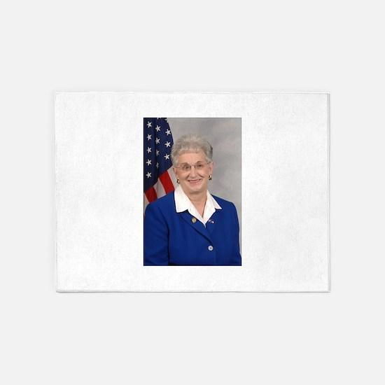 Virginia Foxx, Republican US Representative 5'x7'A