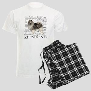 Keeshond Traits Pajamas
