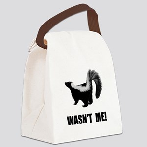 Skunk Wasnt Me Canvas Lunch Bag