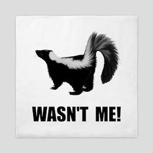 Skunk Wasnt Me Queen Duvet