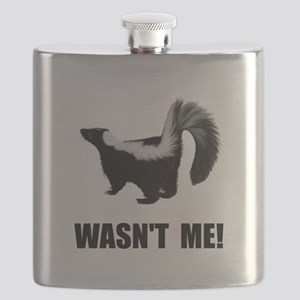 Skunk Wasnt Me Flask
