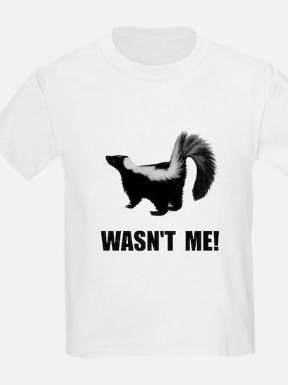 Skunk Wasnt Me T-Shirt